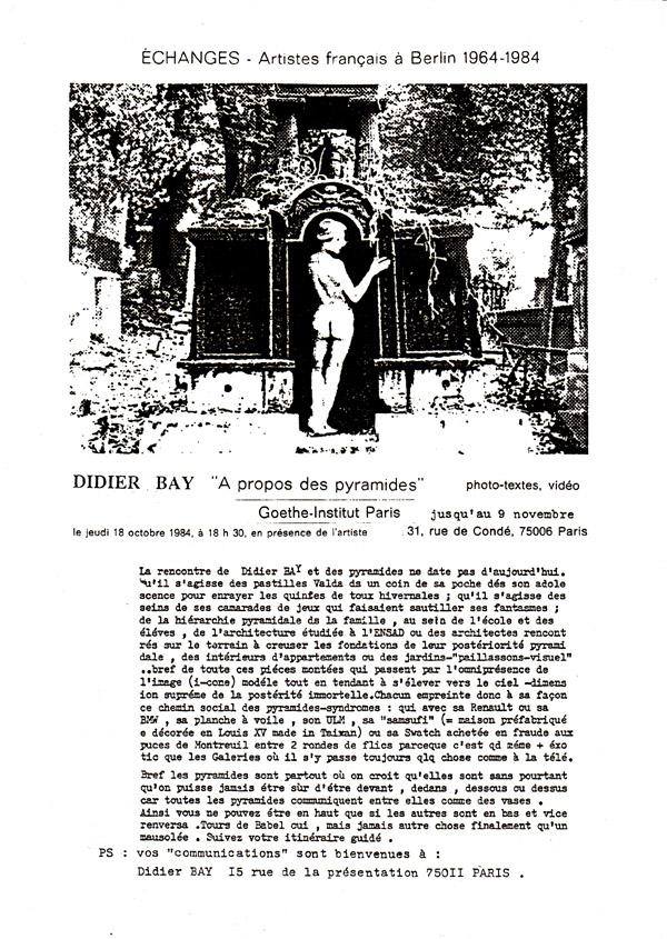 GOETHE institut Paris oct 84.jpg